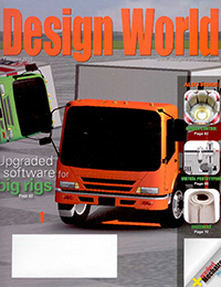 Cover of Design World magazine containing Alex Shaland's magazine article.