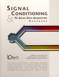 Cover of Signal Conditioning and PC-Based Data Acquisition Handbook reviewed and edited by Alex Shaland