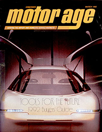 Cover of Motor Age magazine containing Alex Shaland's magazine article.